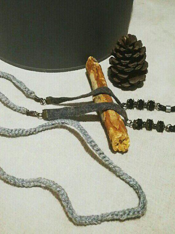 بند عینک دست ساز کاموایی تِم زمستون